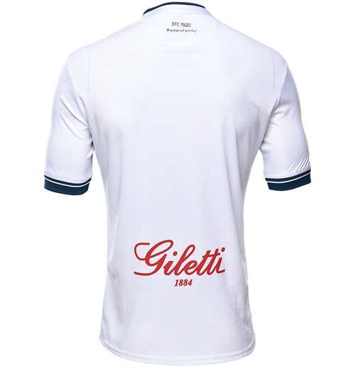 Azzurri 2016-17 Kits Away Back