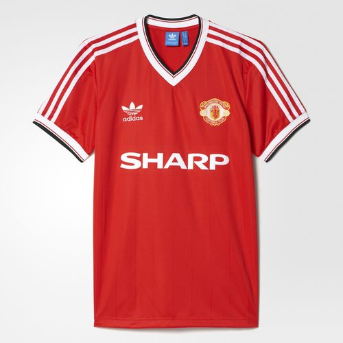 2655d9c6a Manchester United 1982-83 Adidas Originals Reissue Front ...