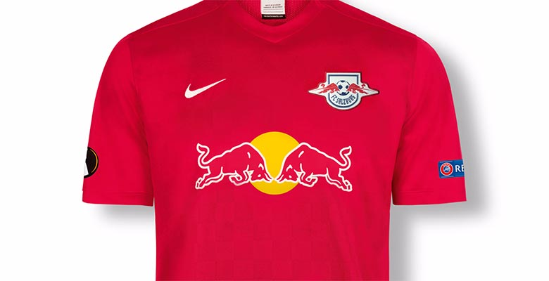 8eefec197 RB Salzburg chest europa league shirt