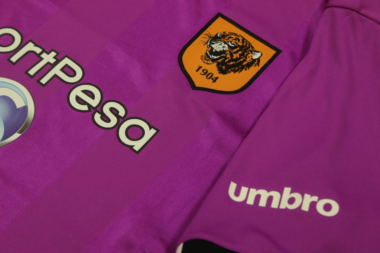 Hull City Debut Purple Haze Third Kit eee2e76f2