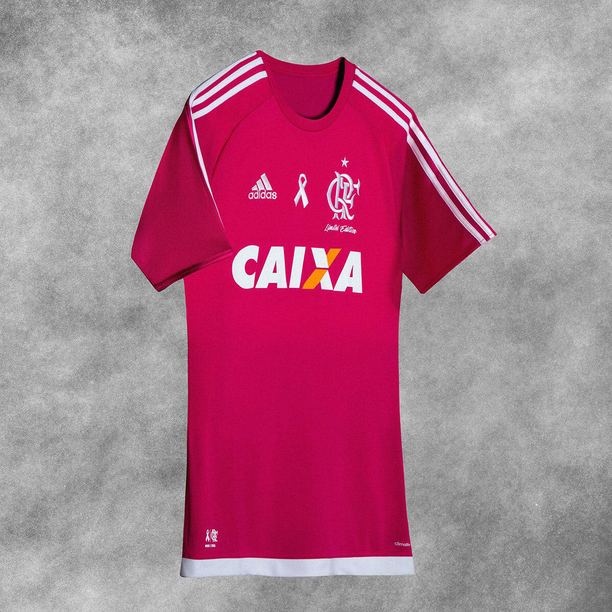 Flamengo 2016 Pink Breast Cancer Charity Shirt f5ce1051472b5