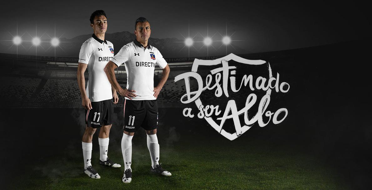 new style 9d66f 965af Colo-Colo 2017 Under Armour Home Kit Unveiled