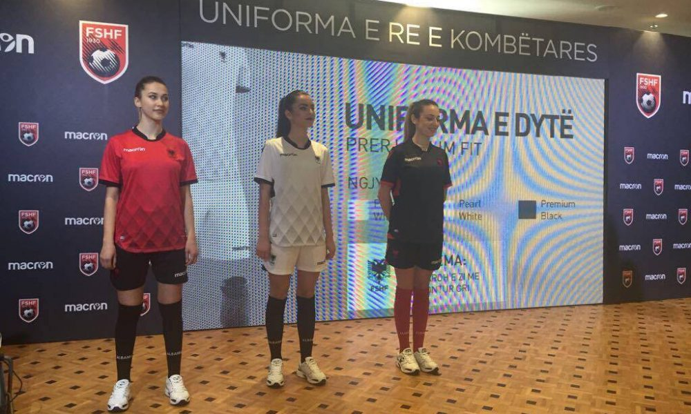 Albania Unveil 2017 Kits 3e2363dae
