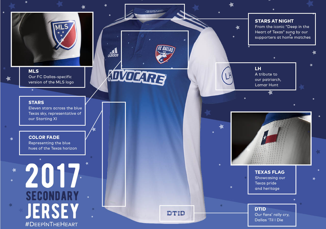 ab6c37e28 Stunning FC Dallas 2017 Away Kit Released