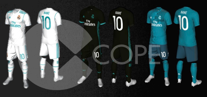 Real madrid 2017 18 kits leaked - The body shop madrid ...