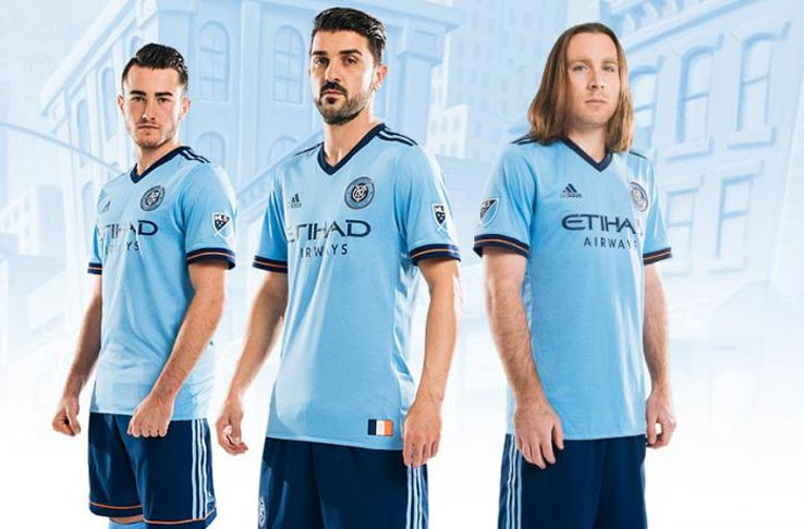 huge selection of 88897 c6544 New York City Unveil 2017 Home Kit