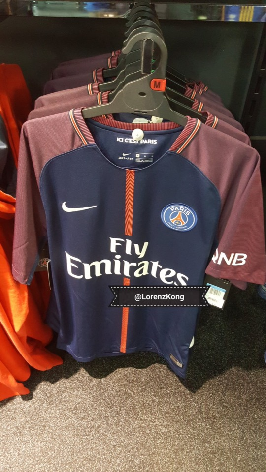 official photos 5e331 23313 PSG 2017-18 Home Kit LEAKED!