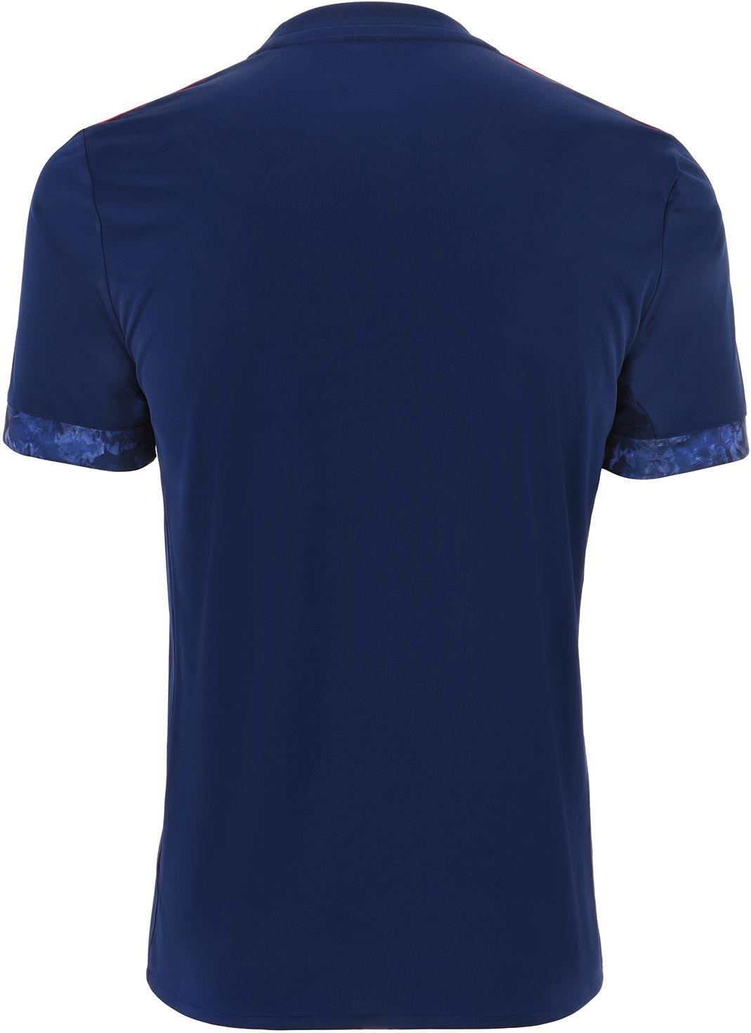 ... ajax-17-18-away-kit-back. The shirt is blue ... bccd25b8b