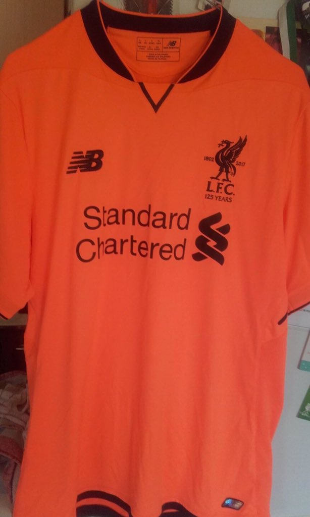 c694b3d15 Lurid Liverpool 2017-18 Third Kit LEAKED!