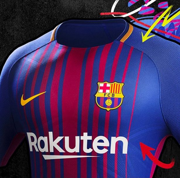 the latest bcdb3 d5ae4 Outstanding Barcelona 2017-18 Home Kit Released