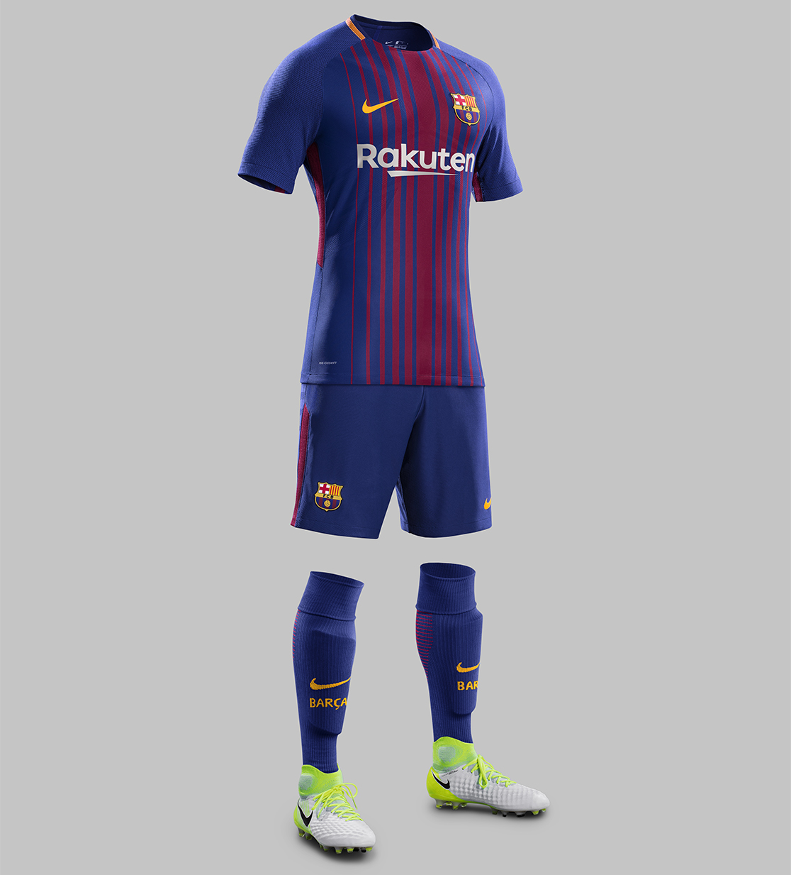 the latest d1a2a 37230 Outstanding Barcelona 2017-18 Home Kit Released