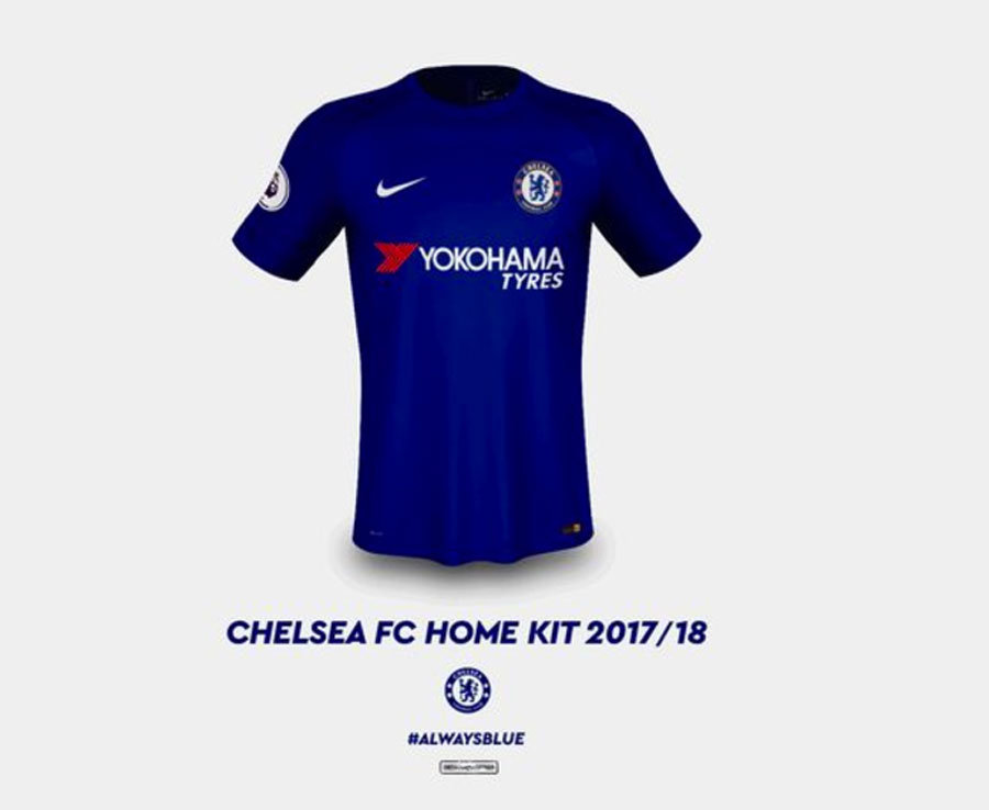 33a3c8454 Blue Is The Colour! Chelsea 2017-18 Shirts Leaked!