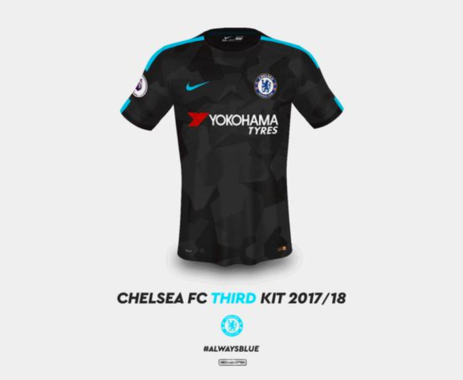 Blue Is The Colour Chelsea 2017 18 Shirts Leaked