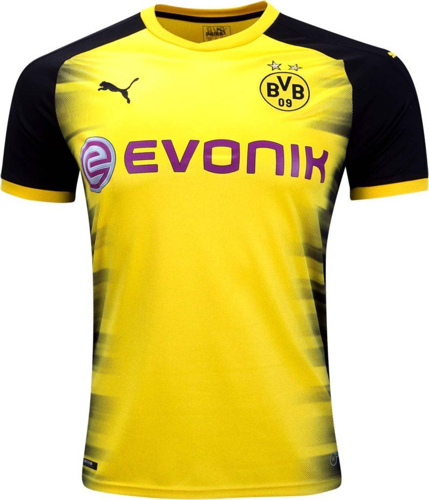Borussia Dortmund 2017-18 Champions League Shirt Leaked 6779ba2e5