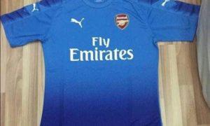 Arsenal 2017-18 leaked away kit
