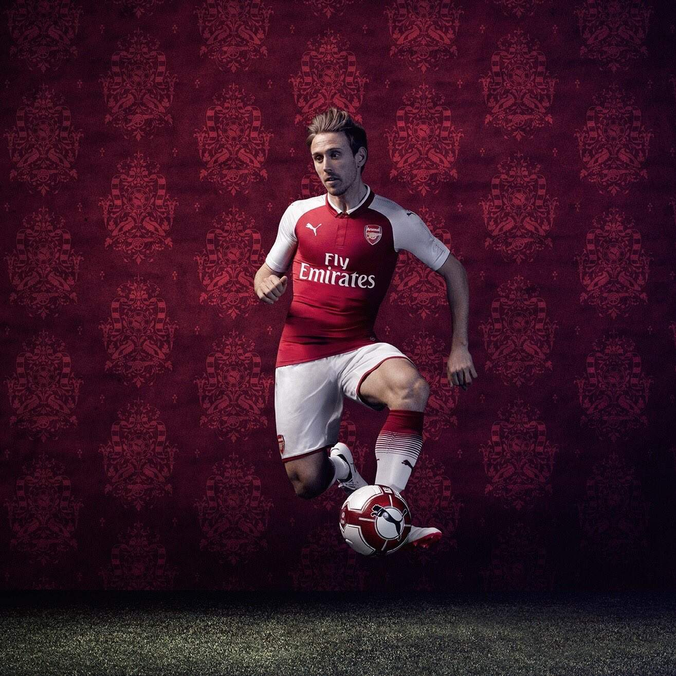 decdf1dec In The Red - Arsenal 2017/18 Home Kit Gets Mixed Reactions