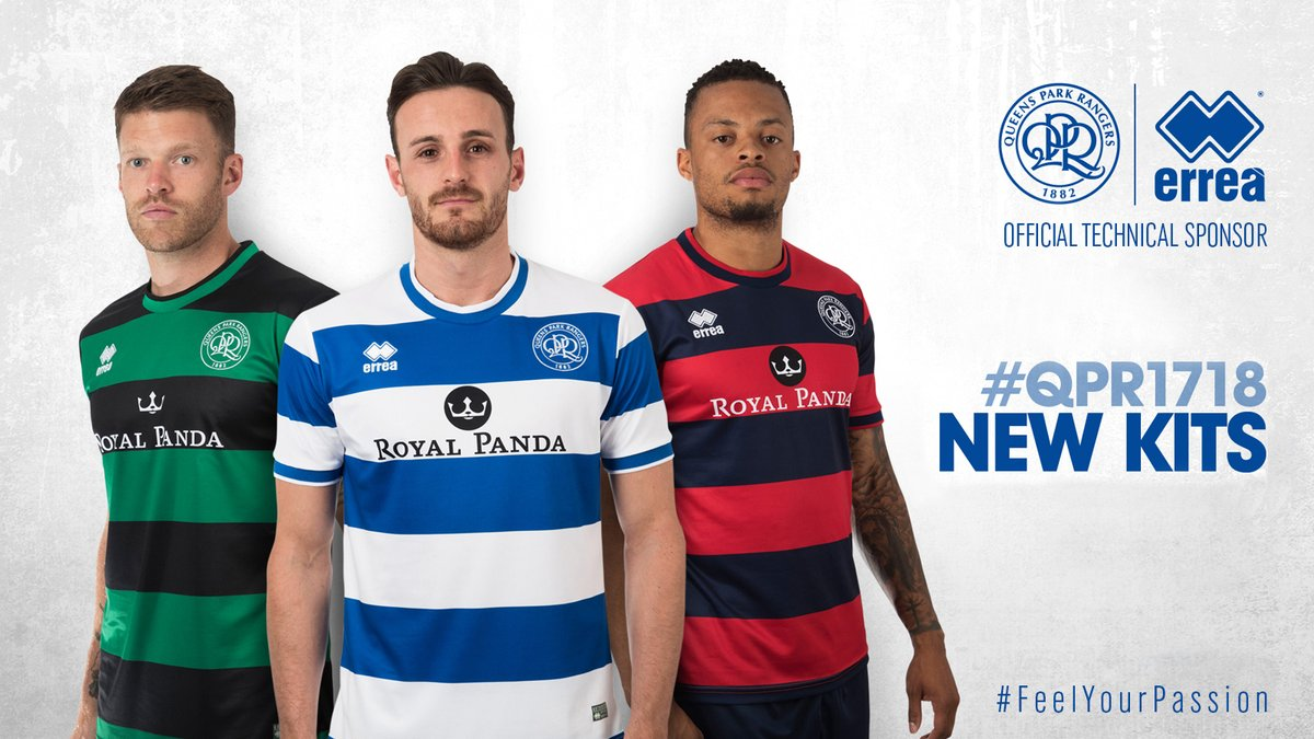 timeless design 10a3e 42a3d QPR Cock-A-Hoop With 2017/18 Kits