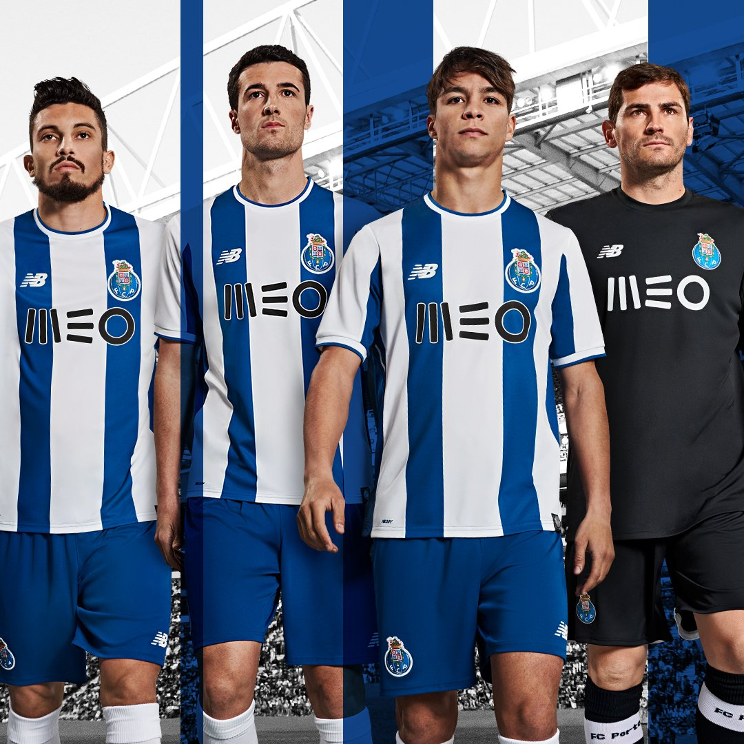 half off f9769 ff6db Porto 2017-18 Kits Released