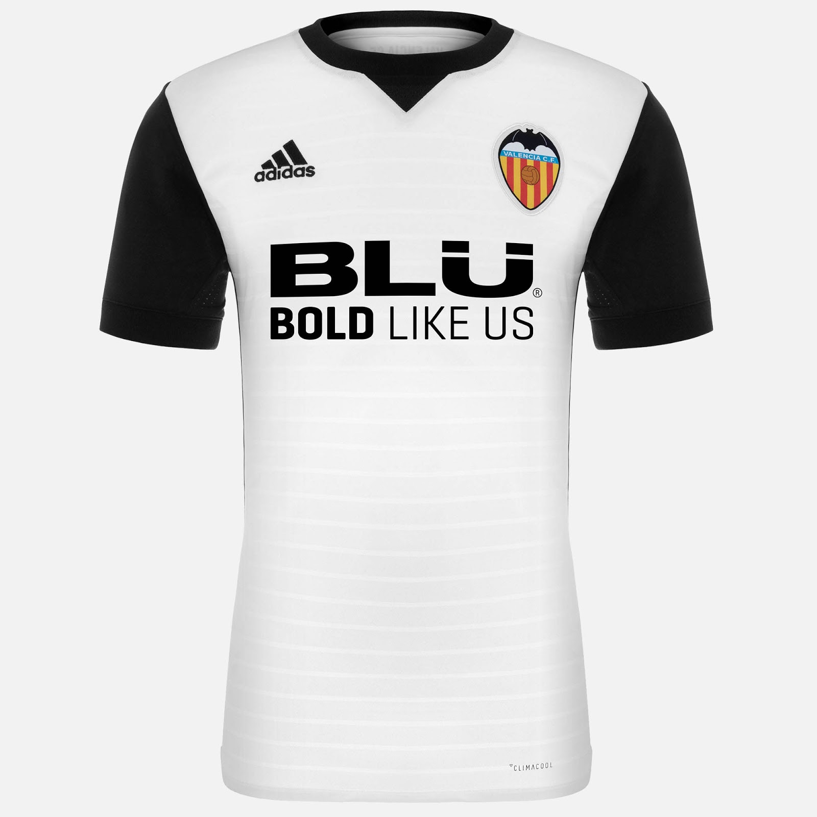 brand new 5afdc f70b8 Outstanding Valencia 2017-18 Home Kit Revealed