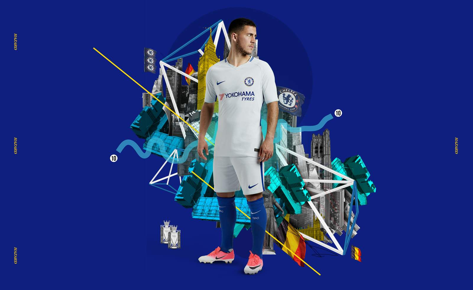 All-White On The Night - Chelsea 2017 18 Away Kit Is Here! 6e2189a97