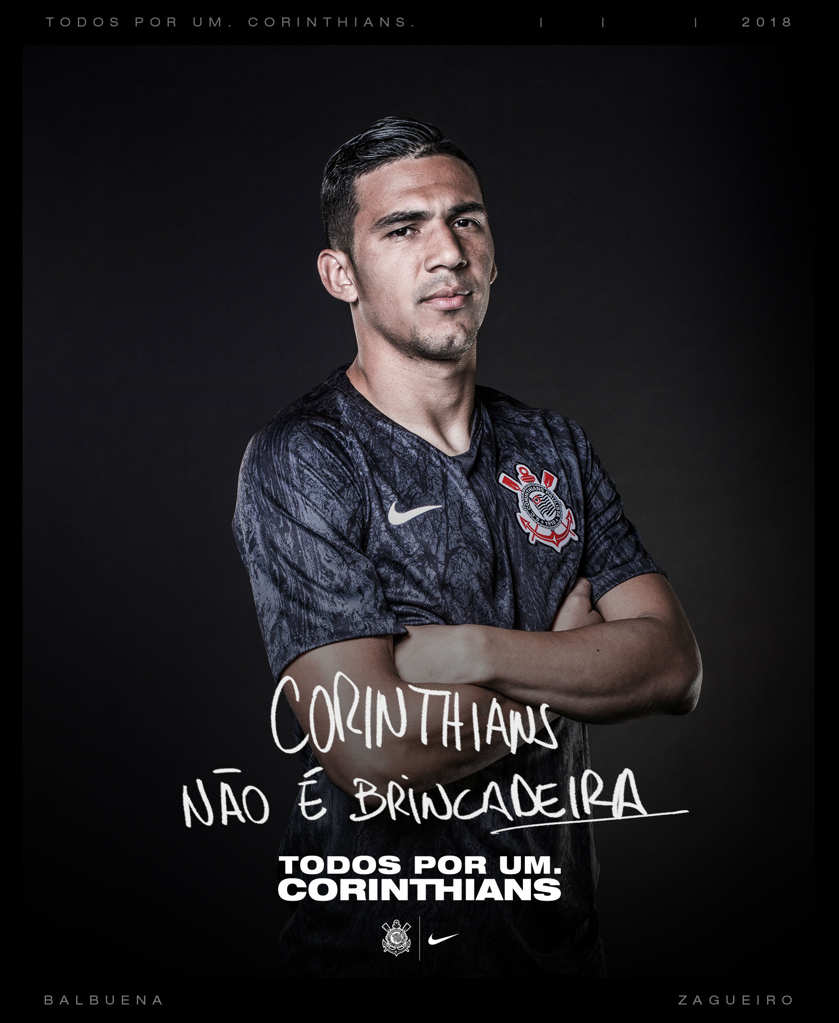 7d9d430e4d9 Nike Reveal Corinthians' 2018/19 Away Kit
