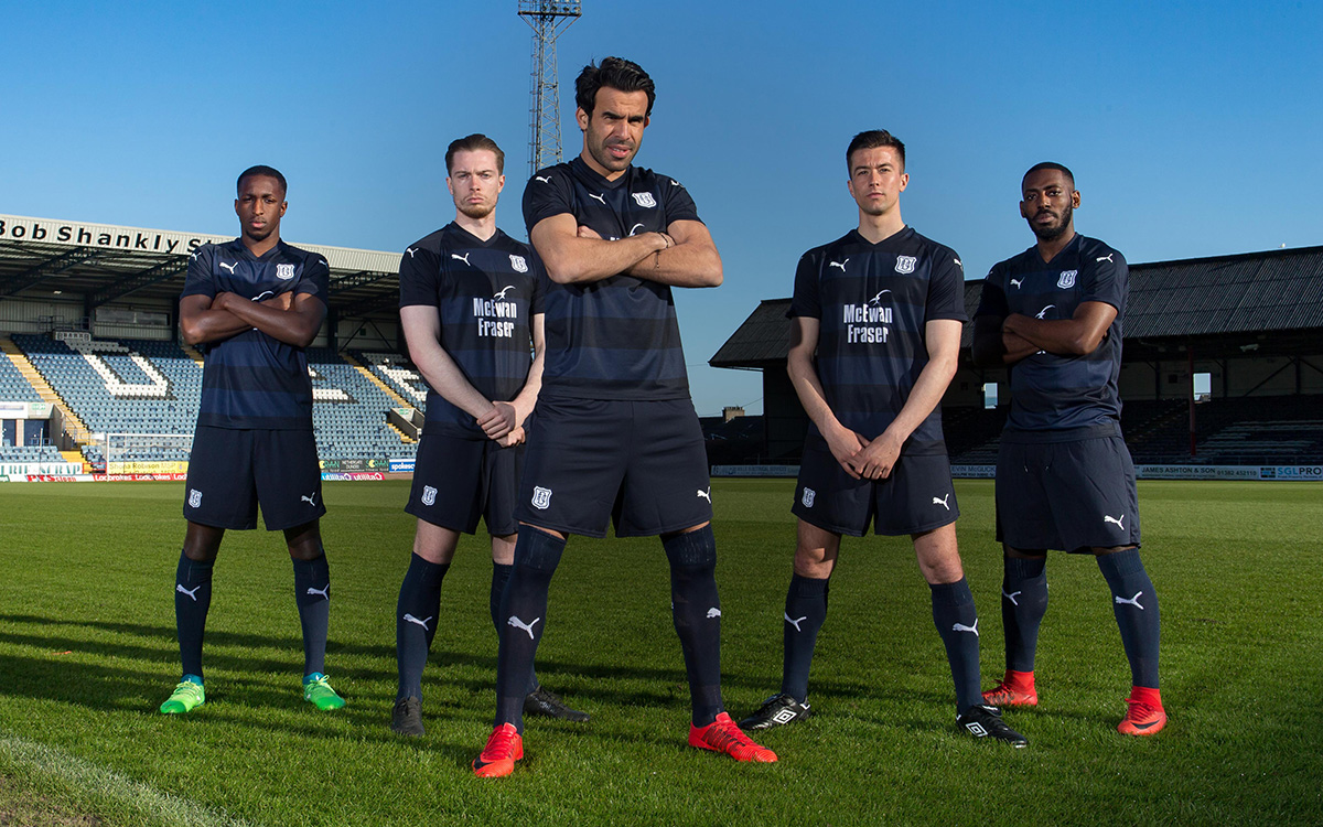 f87480c33 Dundee FC Release 2018 19 Home Kit by Puma