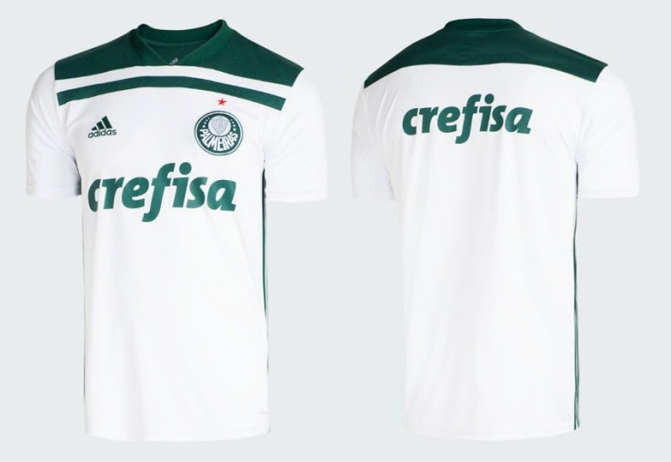8b5c4a875 Nike Reveal Palmeiras  2018 19 Away Kit