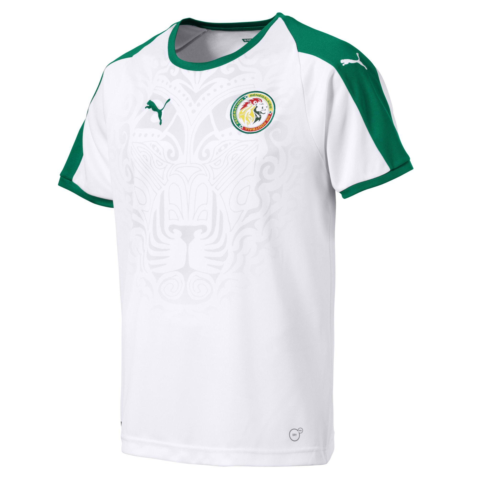senegal 2018 world cup puma home shirt a  senegal 2018 world cup puma home shirt b 10ae5960c