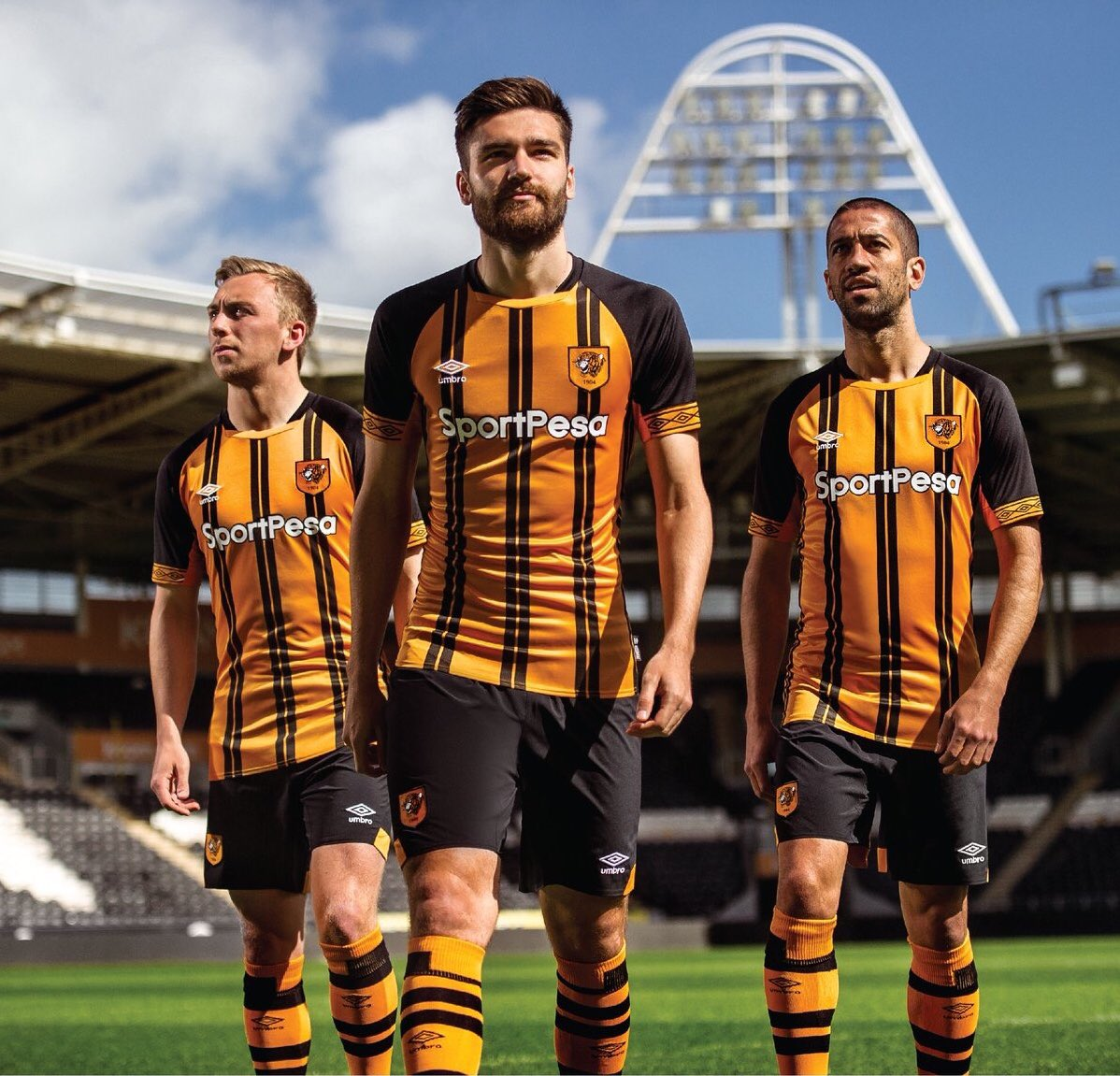 7b7f56806ad Hull City AFC Reveal Their 2018/19 Home Kit by Umbro