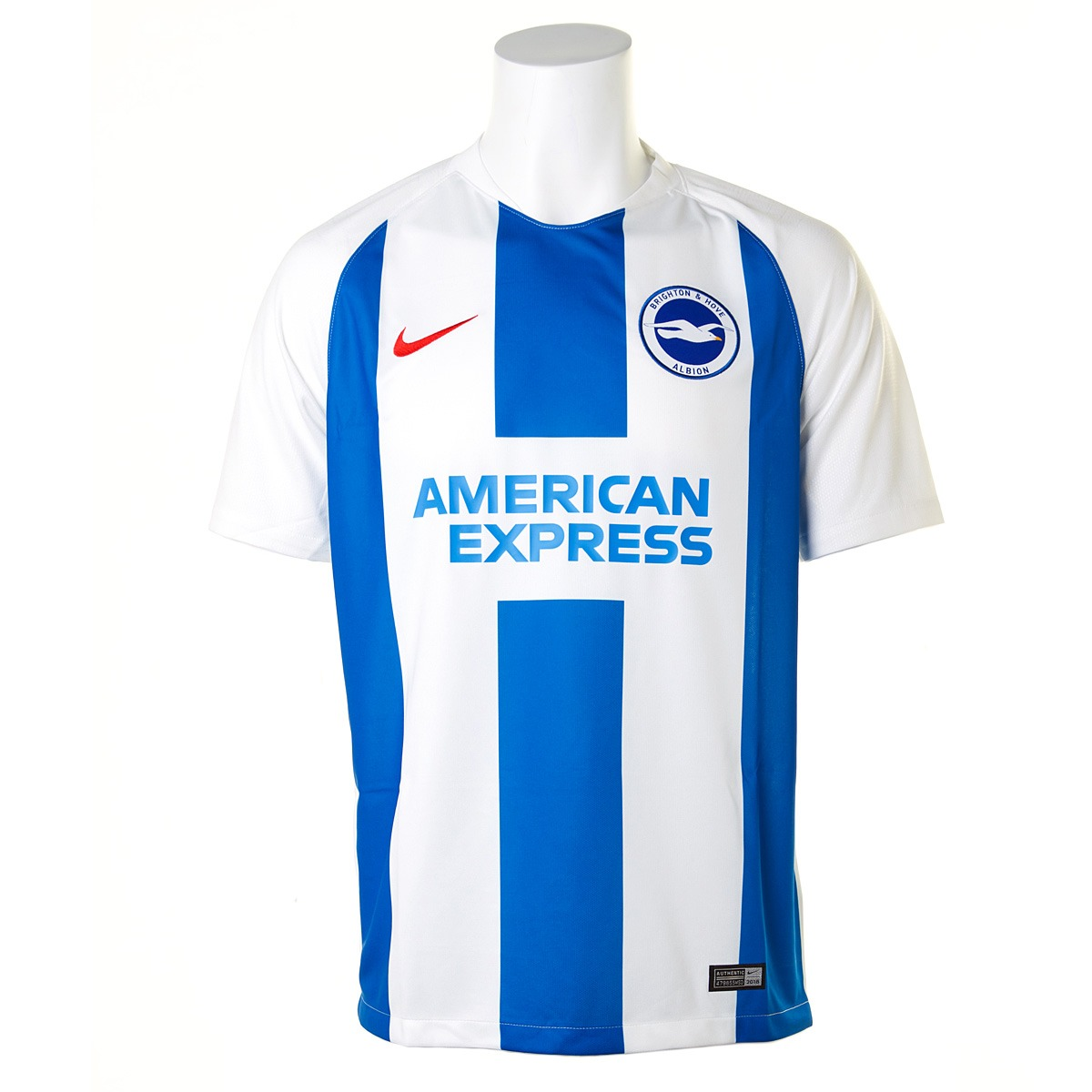 0be62f51750 Brighton   Hove Albion Reveal Their 2018 19 Home and Away Kits by Nike
