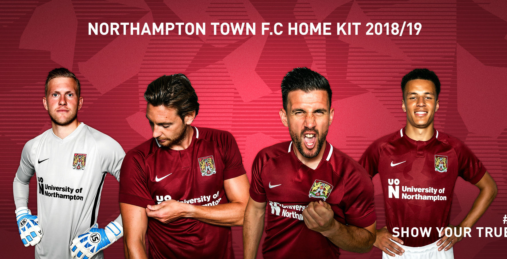 cb7f73db97a Northampton Town FC Reveal Their 2018 19 Home Kit by Nike