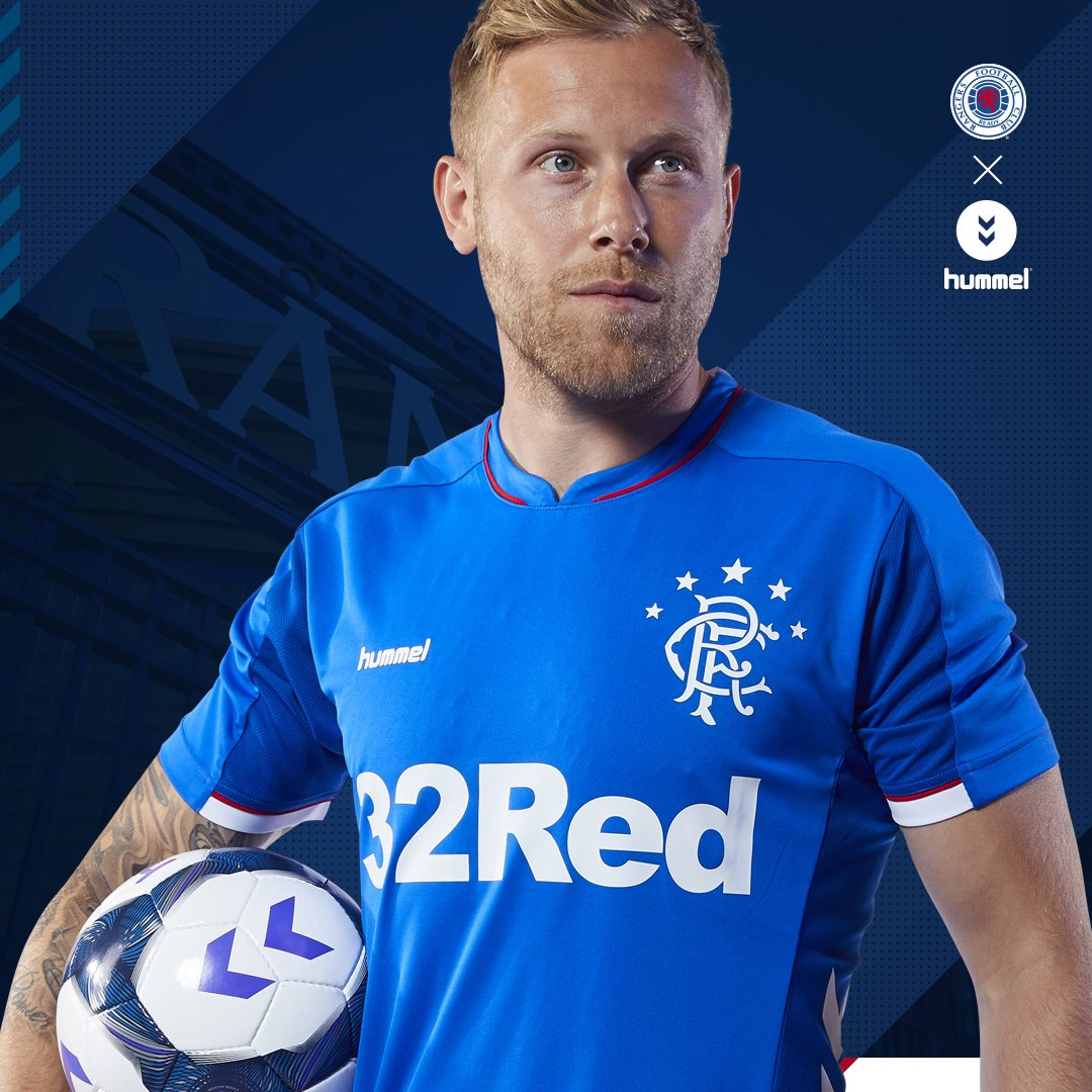 4f1b287a600 Rangers Reveal Their 2018 19 Home and Away Kits by Hummel