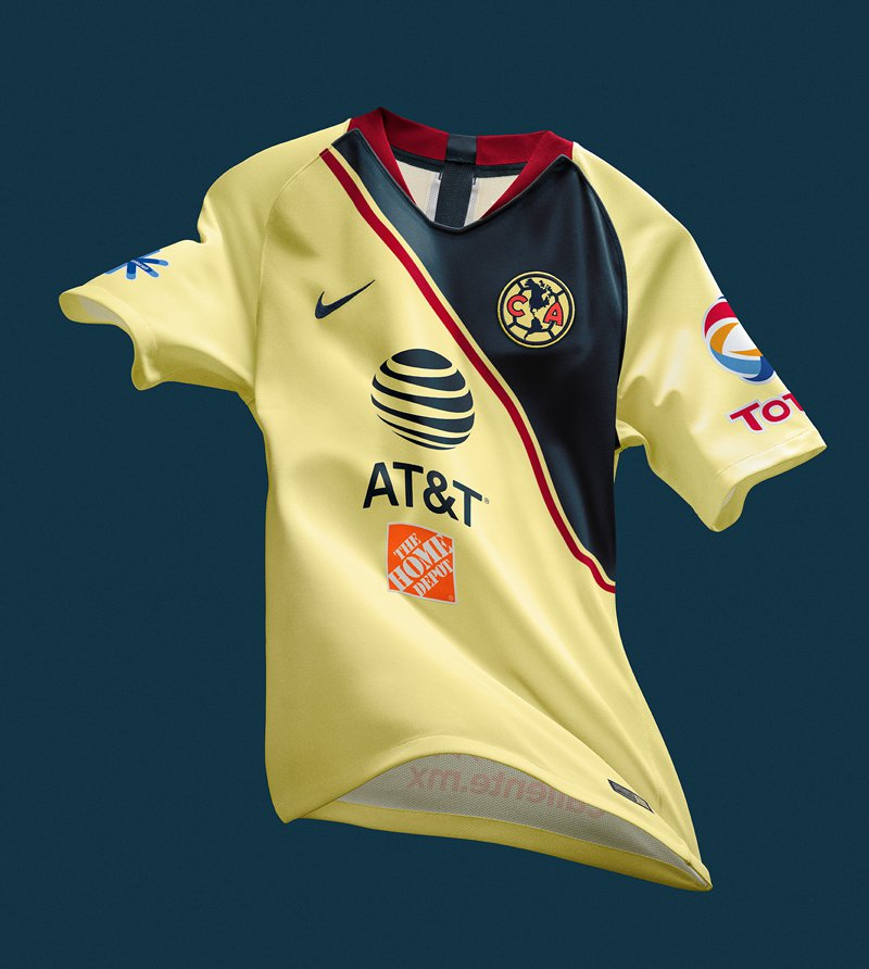12a47275d Club America Reveal Their 2018 19 Home Kit by Nike