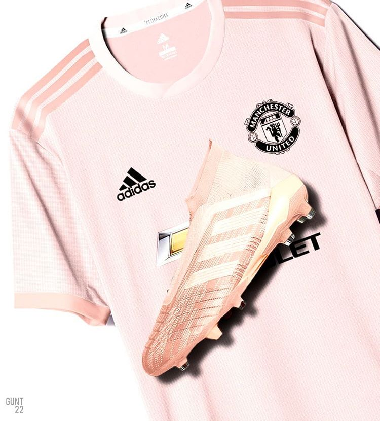 timeless design 5b911 a8974 Manchester United Reveal Their Away Kit for the 2018/19 Season