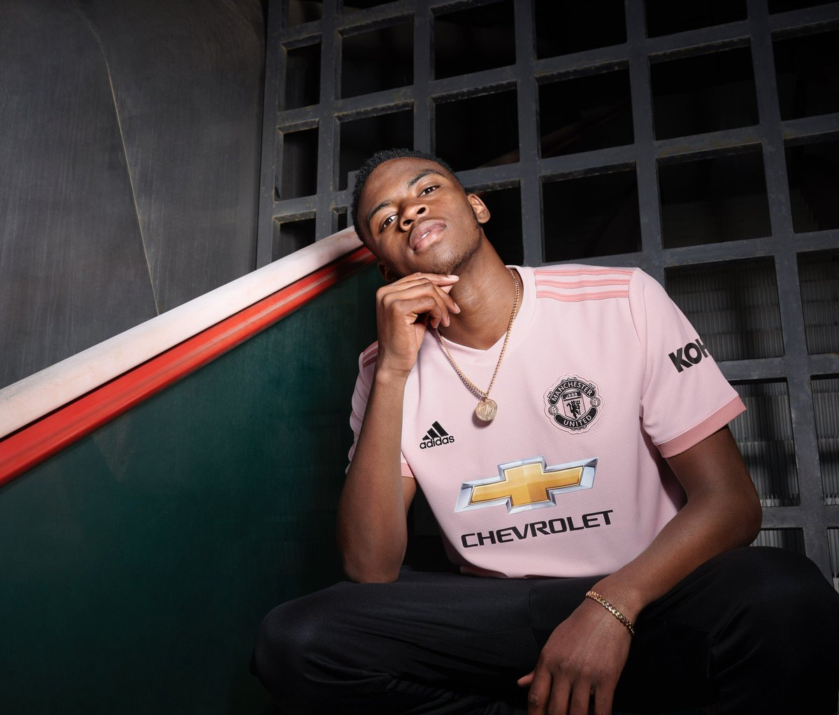 c3d5301227 Manchester United Reveal Their Away Kit for the 2018 19 Season