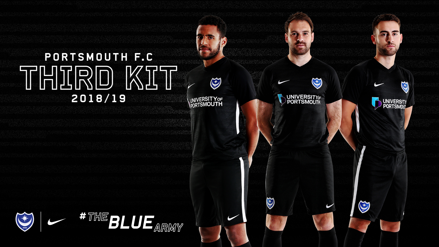 caf8e780514 Portsmouth FC Reveal Their 2018/19 Third Kit by Nike