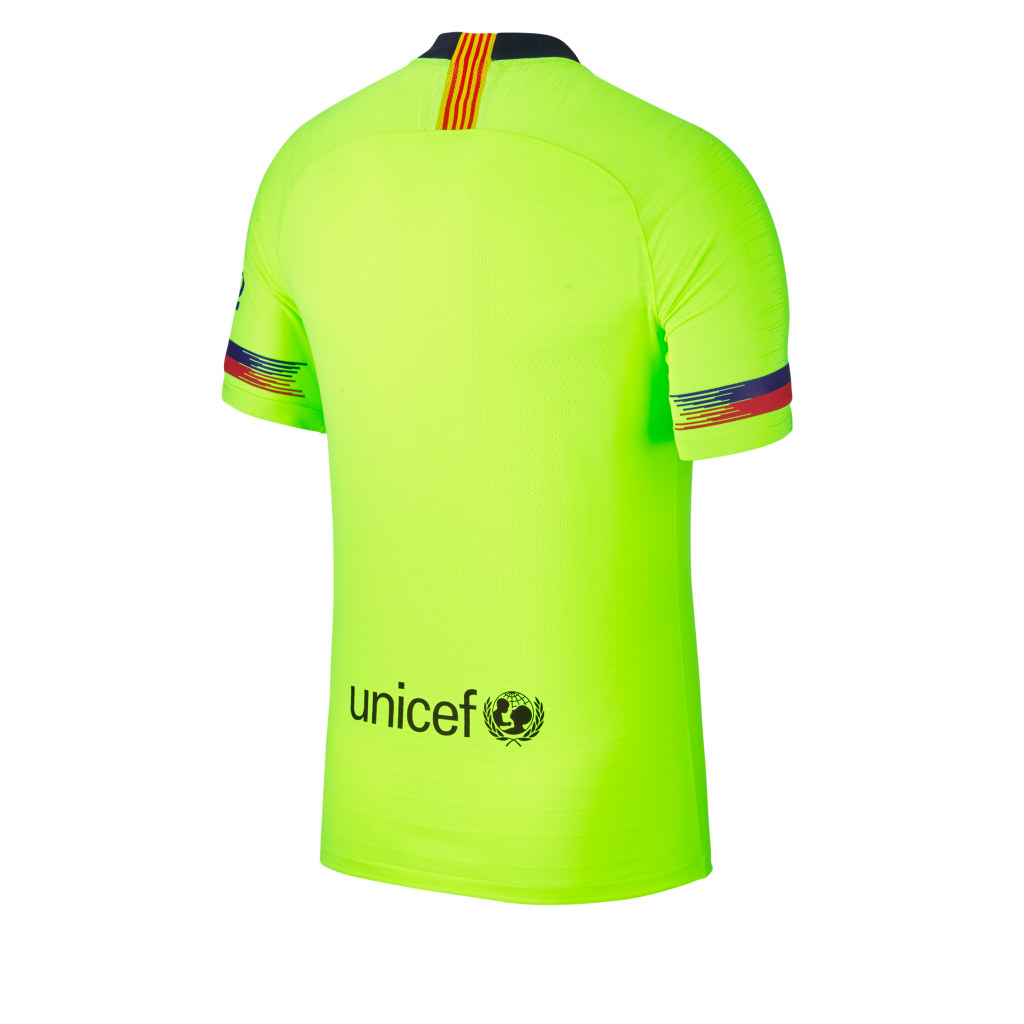 Barcelona Reveal Their 2018 19 Lime Green Away Kit