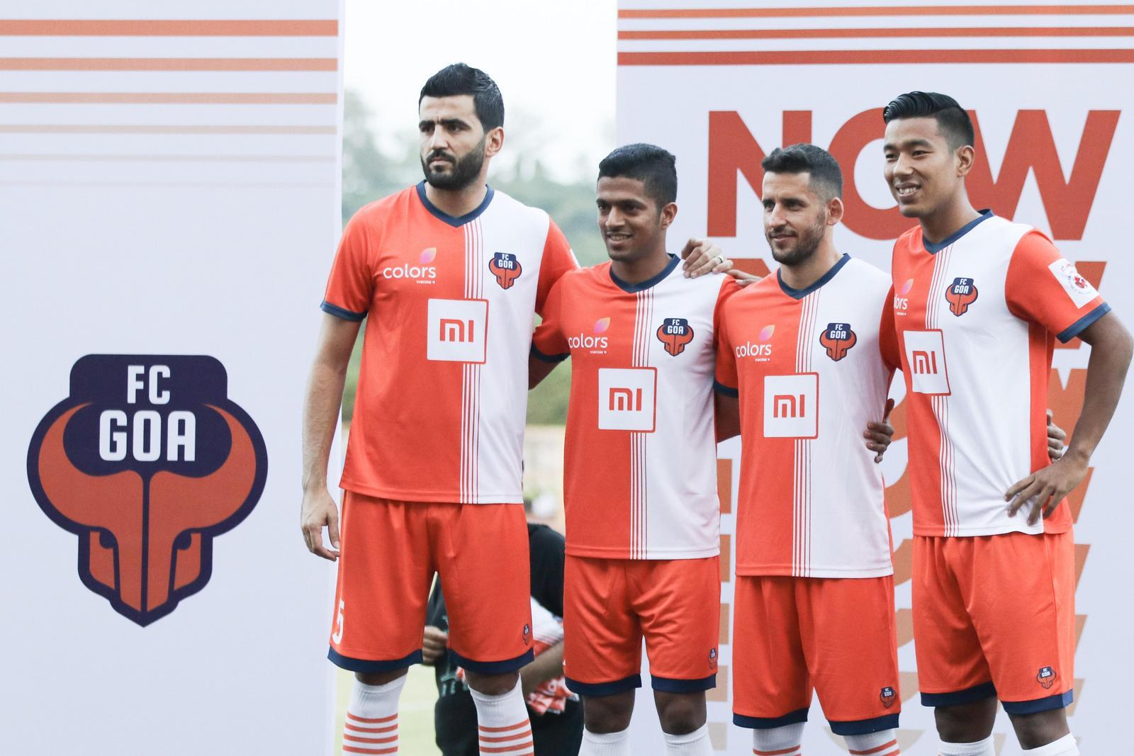 59b59ae13 FC Goa Reveal Their 2018 19 Bright Orange Home Kit