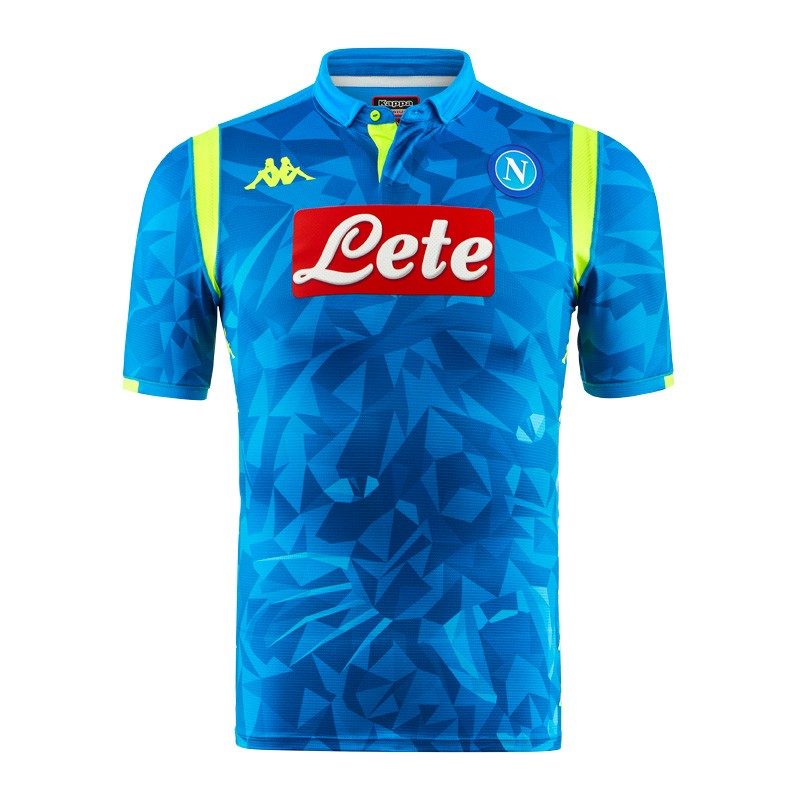 S.S.C. Napoli Reveal Their 2018 19 Eurpoean Home Jersey by Kappa cf3a9d76e8498