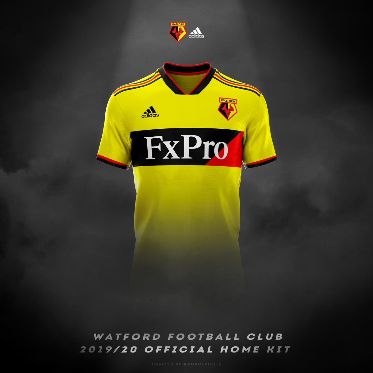 6f75cc97ee5 Watford FC's 2019/20 Concept Home Kit has Arrived!