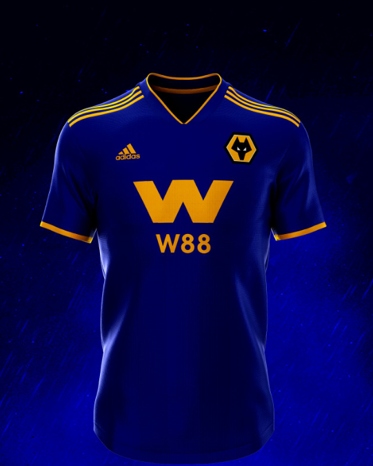 Here are Wolverhampton Wanderers 2019/20 Concept Kits