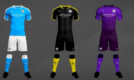 Manchester City's 2019/20 Concept Kits