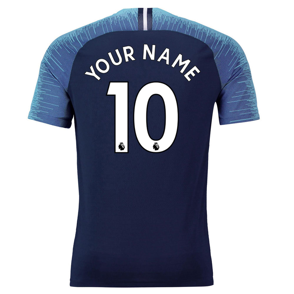 2018-2019 Tottenham Vapor Match Away Nike Shirt (Your Name)