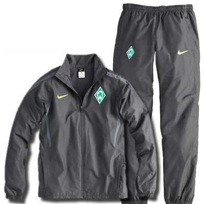 2010-11 Werder Bremen Nike Tracksuit (Black)