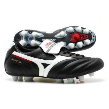 Morelia Moulded FG Football Boots Black / White