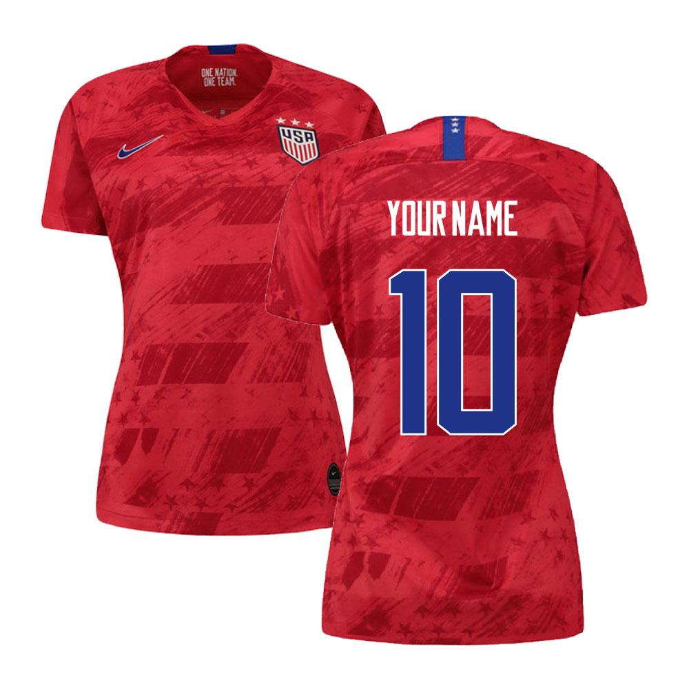 2019-2020 USA Away Nike Womens Shirt (Your Name)