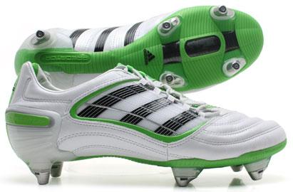 Football Boots Adidas Predator X SG CL Football Boots Running White/Maccaw Gree