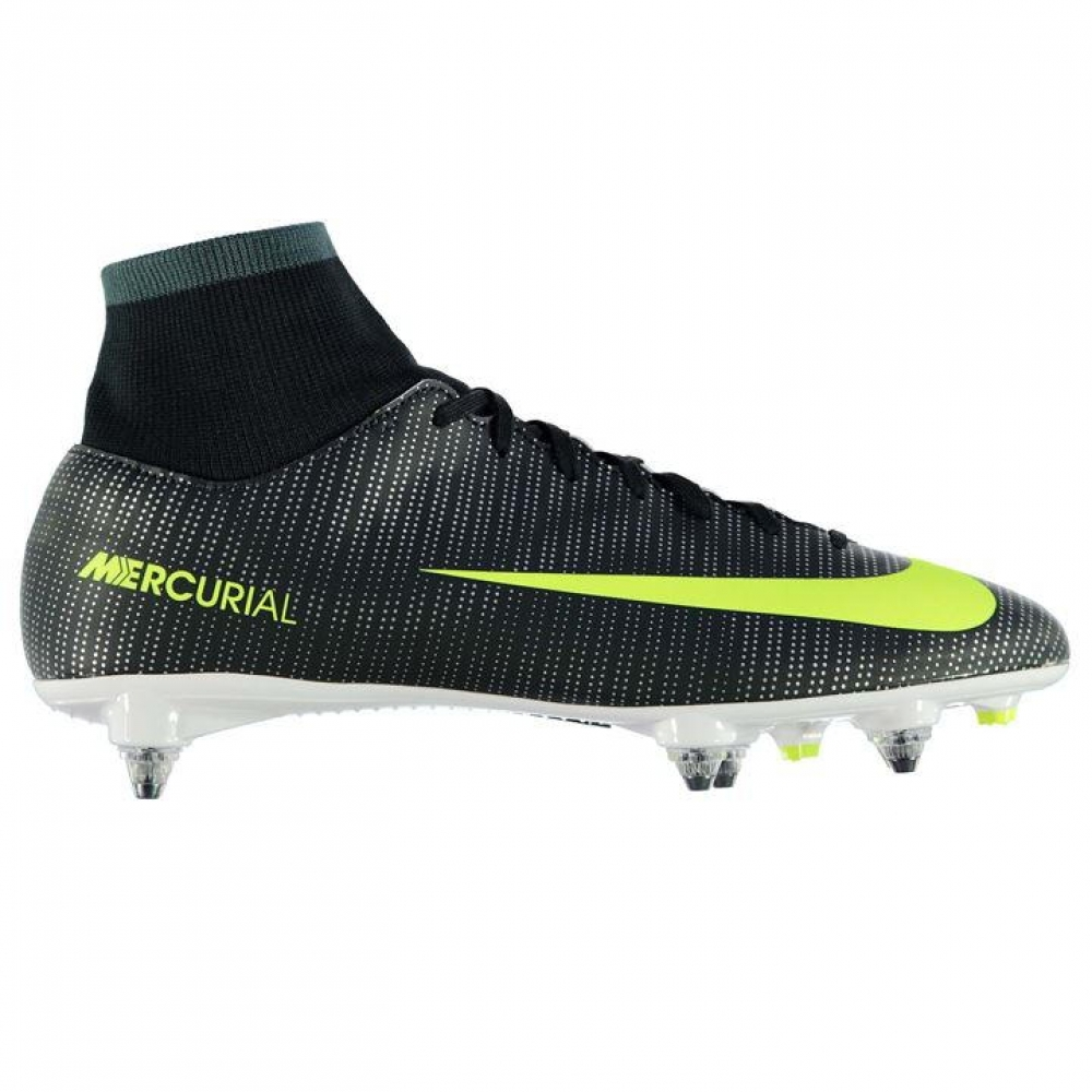 63982683a Nike Mercurial Victory CR7 DF SG Mens Football Boots (BlackVolt)