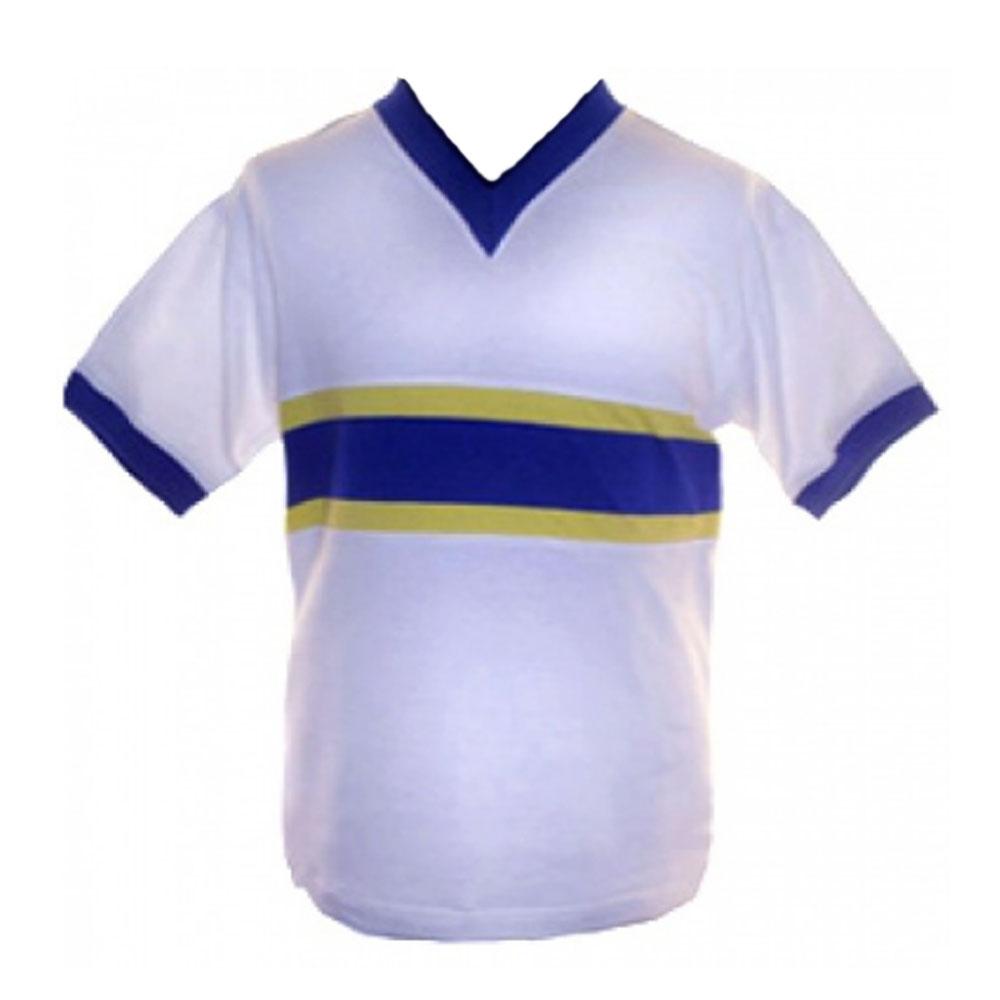 buy popular 8fbcb d0a04 Everton 1958-1960 Away Retro Football Shirt
