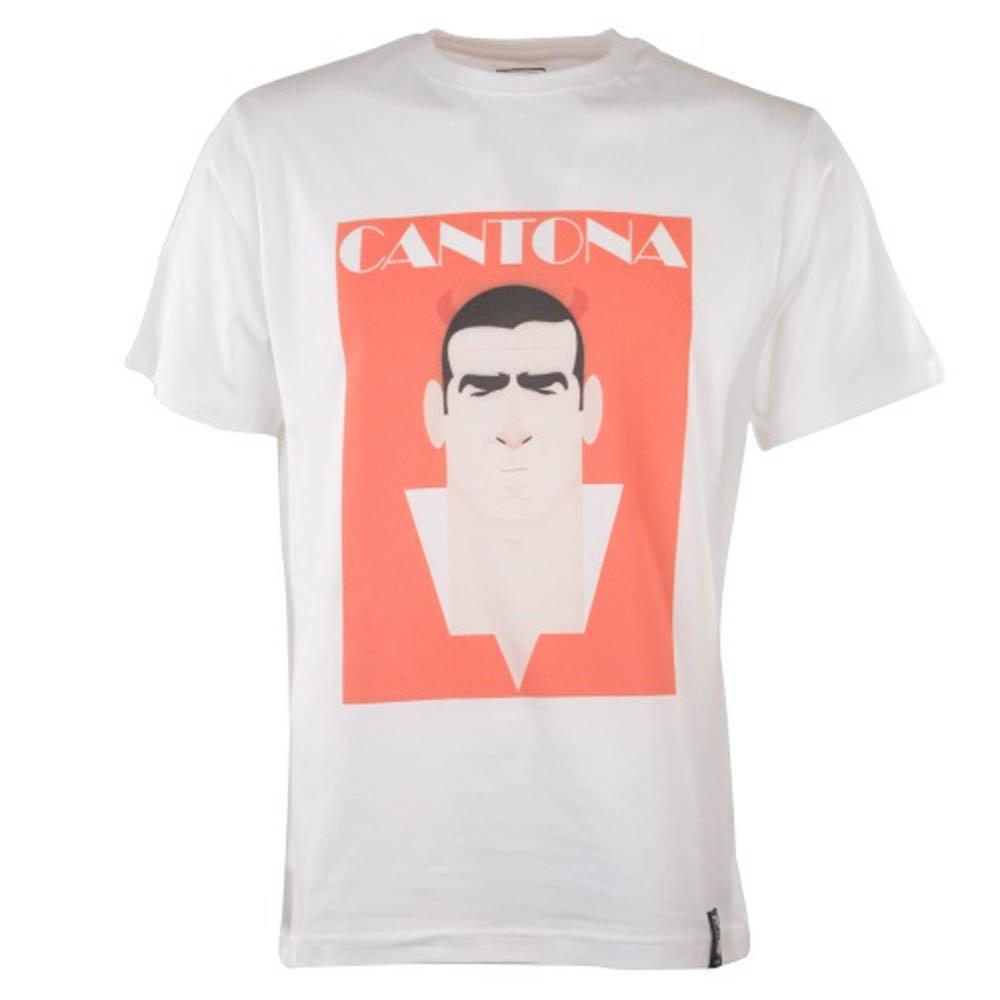 Manchester United Retro Cantona T Shirt Red